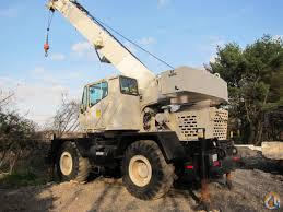 grove rt 528c 28 ton rough terrain crane cummins crane for sale in