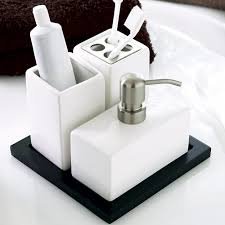 Modern Bathroom Accessories Sets Decorating Bathroom Accessories Sets Sorrentos Bistro Home