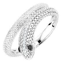 Black Diamond Lights Lights Ring With Enhanced Black Diamonds In Sterling Silver