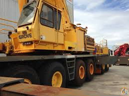 low price for low hours 220t grove all terrain mobile crane crane