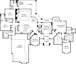 house plans with grand entry