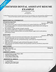 resume exles for dental assistants resume exles for dental assistants