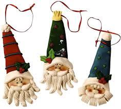 adorable santa christmas fall ornaments set of 12 cookie dough