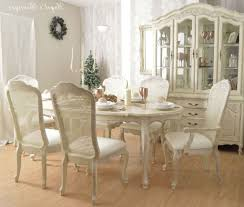 shabby chic pedestal dining table long dining table small glass