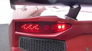 lamborghini aventador rear lights 2014 lambo replica lights demo