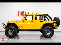 jeep yellow 2015 jeep wrangler unlimited sport for sale in tempe az stock