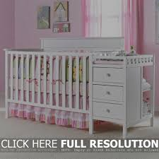 Convertible Cribs With Attached Changing Table by Baby Cribs White Cribs Decoration