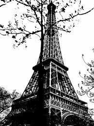 eiffel tower sketch bw by kelseyann49 on deviantart