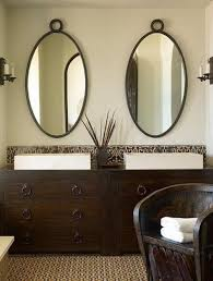 Oval Bathroom Mirror by Oval Bathroom Mirrors With Lights Best Decor Things
