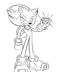 nice decoration shadow hedgehog coloring pages 16 sonic