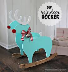 Childrens Wooden Rocking Chairs Sale Ana White Reindeer Rocking Chair Diy Projects