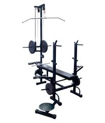 kakss weight lifting 20 in 1 bench for gym exercise buy online at