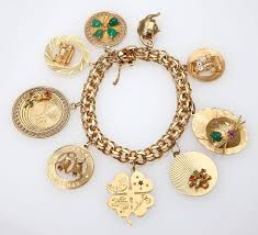 gold bracelet with charms images 16 best charmed i 39 m sure images auction my jpg