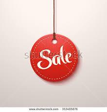 illustration color paper sale label stock vector 353405876