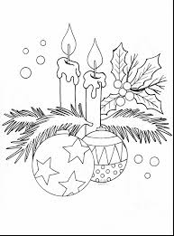 brilliant coloring pages christmas candles with christmas
