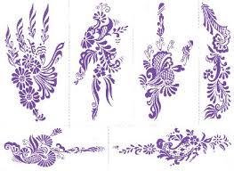 henna tattoo stencils zentrader