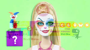 barbie toys face painting barbie dolls mk 2 video dailymotion