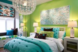 furniture green white color shades teens room design with source