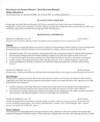 product development manager resume sample professional business resume manager resume template management