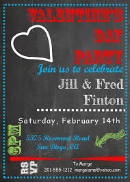 Invitation Card For Reunion Party Valentine U0027s Day Party Invitations 2017