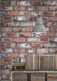 stone brick concrete wallpaper shop