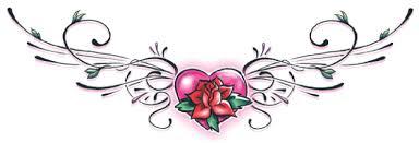 heart rose lower back tattooforaweek temporary tattoos largest
