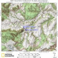 Caprock Canyon State Park Map by Usa Wanderung Usa Hike Eagles Point Natural Bridge Caprock