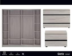 armoire chambre a coucher porte coulissante chambre à coucher design adulte lit 140 160 armoire portes