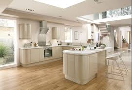 Howdens Laminate Flooring Reviews Bayswater Gloss Flint Contemporary Curved Kitchen Youtube