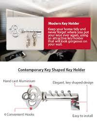 amazon com decorative wall mounted key holder multiple key