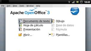 openoffice for android apache openoffice para android