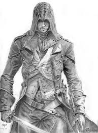 Drawing Games My New 40 Hour Assassin U0027s Creed Unity Sketch I Feel The Game Is