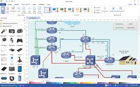 Home Lab Network Design Free Download All In One Diagramming Software Edraw Max