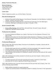 Food Service Job Description Resume by Dietary Aide Job Description For Resume Dietary Technician Resume
