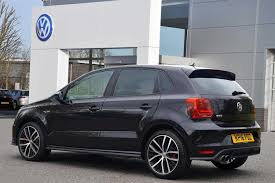 volkswagen polo 2016 black used 2016 volkswagen polo 1 8 tsi gti 192 ps for sale in