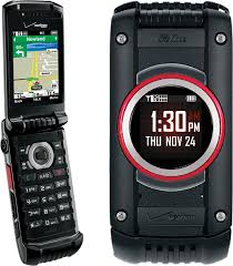 Rugged Cell Phones Casio Gzone Ravine 2 C781 Rugged Mil Spec Flip Phone For Verizon