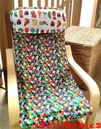 ikea harry chair slipcover bespoke children s ikea poang chair covers at jellibabies
