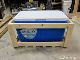 how to make a rustic wood cooler stand jpg 1 440 1 080 pixels