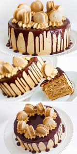 chocolate ganache cake decoration coffee caramel cake with chocolate ganache tatyanas everyday food