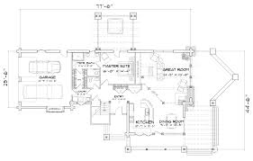 flat iron chalet hybrid log and timber home floor plan