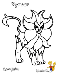 pokemon coloring pages delphox coloring page