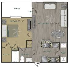 luxury one two three bedroom apartment homes with spacious a1lg floor plan 1