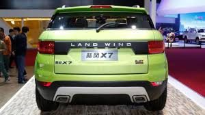 land rover chinese 2015 landwind x7 chinese range rover evoque clone youtube