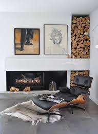 Interior Design Corner 25 Cool Firewood Storage Designs For Modern Homes