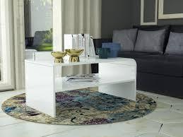 tableau verre transparent pour ecrire table basse design blanc laqué avec plateau en verre transparent s