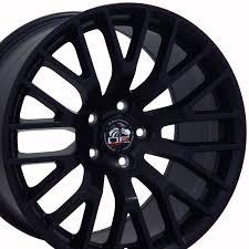 Satin Black Mustang Ford 2015 Mustang Gt Style Replica Wheel Satin Black 19x8 5