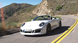porsche 911 convertible white 2015 porsche 911 carrera 4 gts cabriolet driving footage youtube