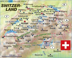 map of montreux map of switzerland map in the atlas of the world world atlas