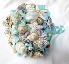 wedding bouquets with seashells best 25 blue bridal bouquets ideas on bridal bouquets
