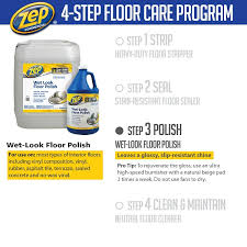 zep 128 oz look floor zuwlff128 the home depot